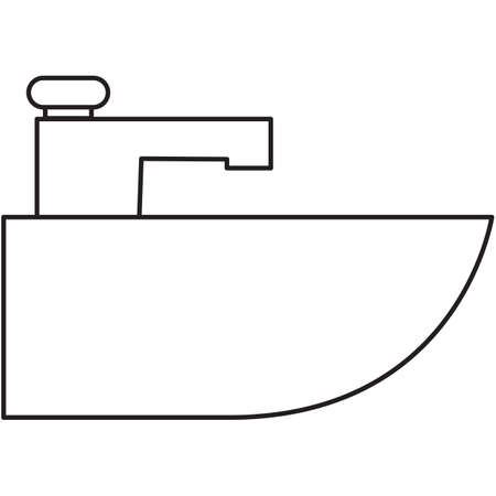 wash: wash basin Illustration