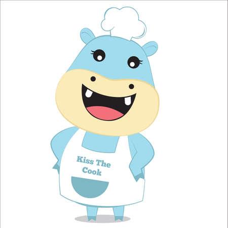 hippopotamus: hipopótamo como jefe de cocina