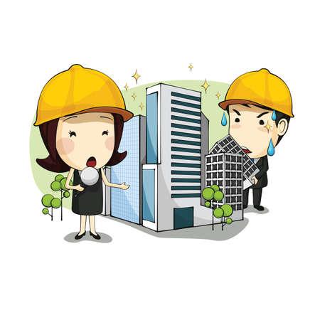hard cap: architect making announcement of new development