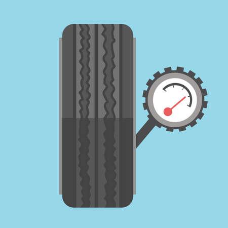 barometer: tyre and barometer