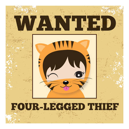 wanted poster: wanted poster Illustration