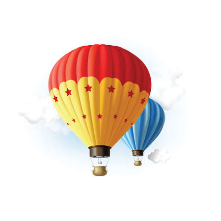 hot air: hot air balloons flying in sky