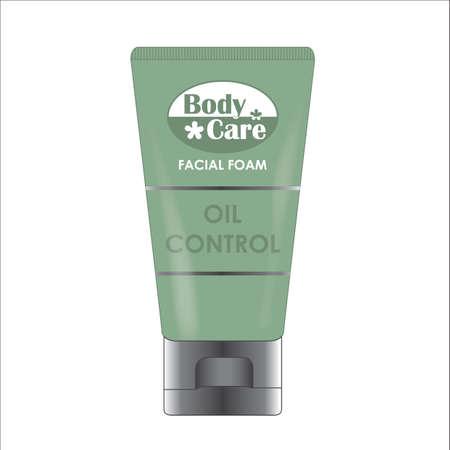 bodycare: facial cream