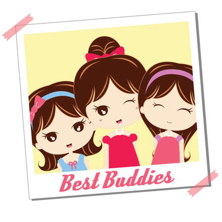 buddies: photograph of best buddies