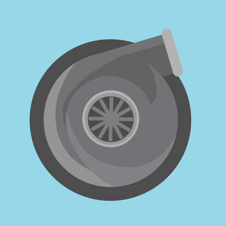 turbo: turbo charger Illustration