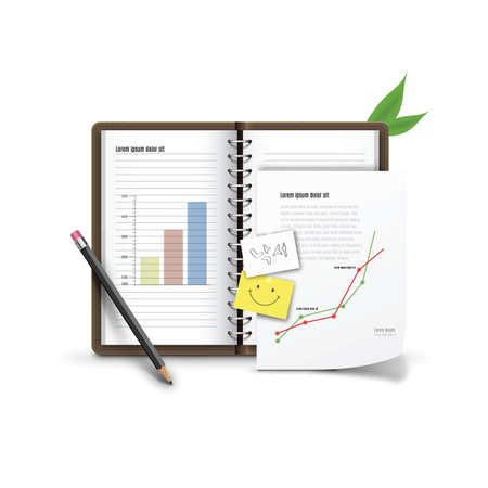 diary: diary with graphs