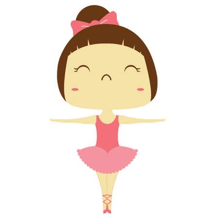 ragazze che ballano: ragazza ballerina Vettoriali