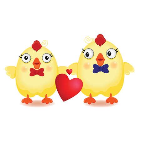 pollitos: polluelos en el amor
