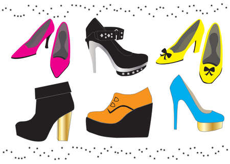 womans footwear collection