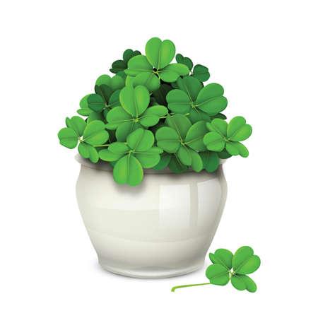 plant pot: green plant pot