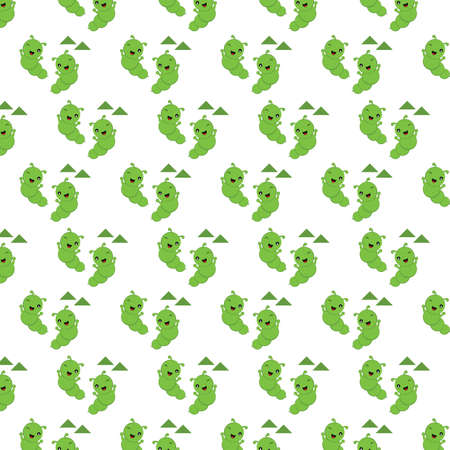 caterpillar: caterpillar background Illustration