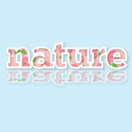 card: nature card Illustration