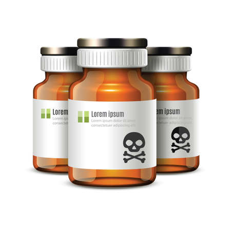 poison: poison bottles