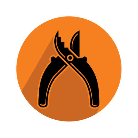 cutting: cutting pliers Illustration