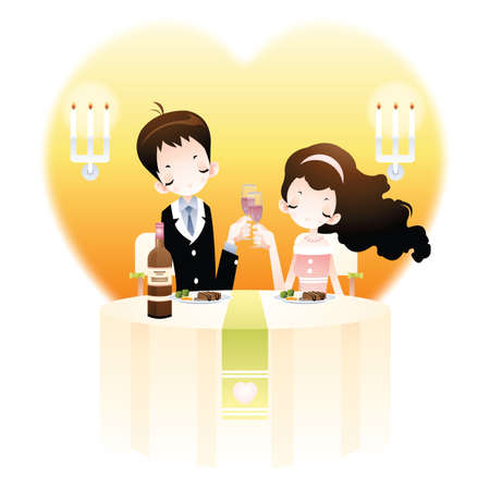 celebrating: couple celebrating anniversary