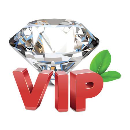 diamond stones: vip diamond Illustration