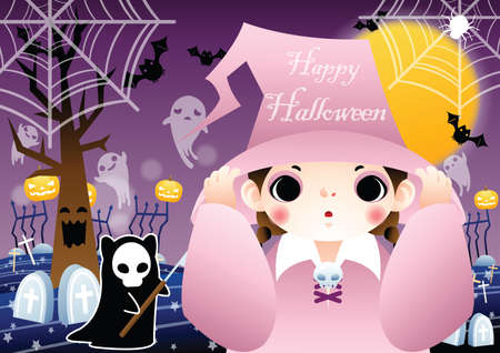 halloween background: halloween background design