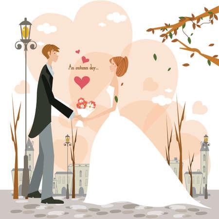 een bruidspaar