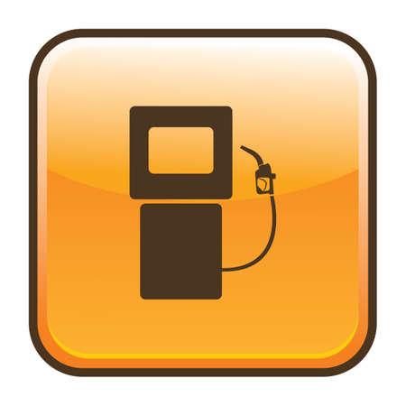 petrol: petrol pump Illustration