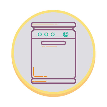 dish: dish washer Illustration