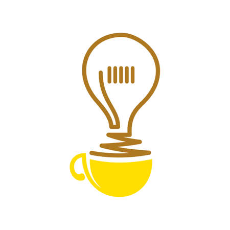 electric bulb: electric bulb in cup