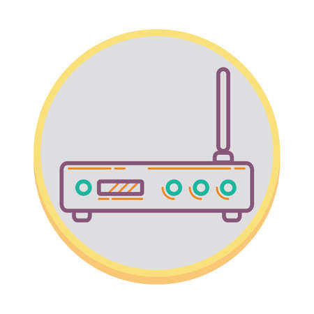 connection connections: router Illustration