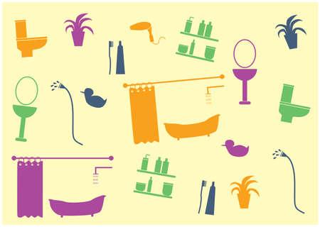 sanitary: sanitary ware background