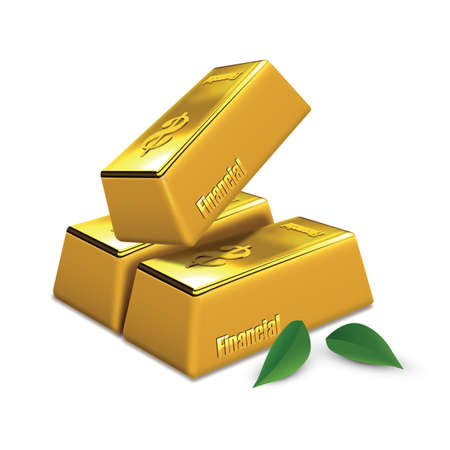 gold: gold bars