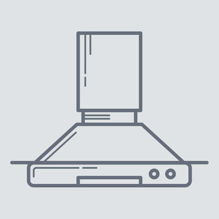 exhaust: exhaust hood Illustration