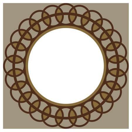 copyspaces: circular frame design