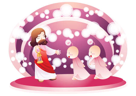 path pathway: jesus lighting the path