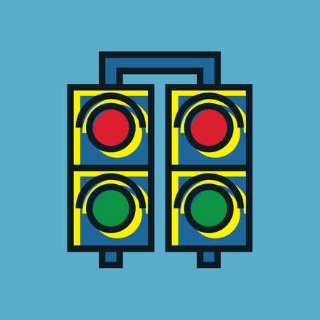 slow down: traffic signal