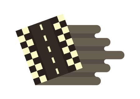 speedway: speedway Illustration