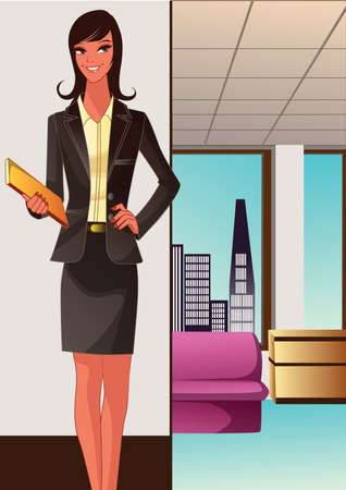 confident: Confident Businesswoman --- Image by ?Eric CahanCorbis