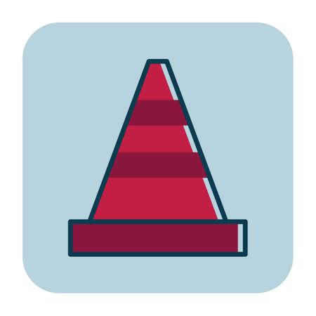 hazard: hazard cone