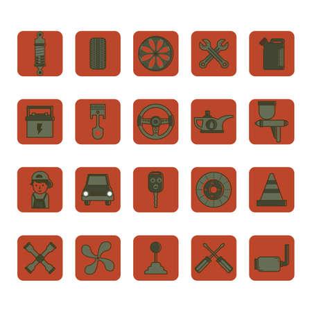 lug: collection of automobile