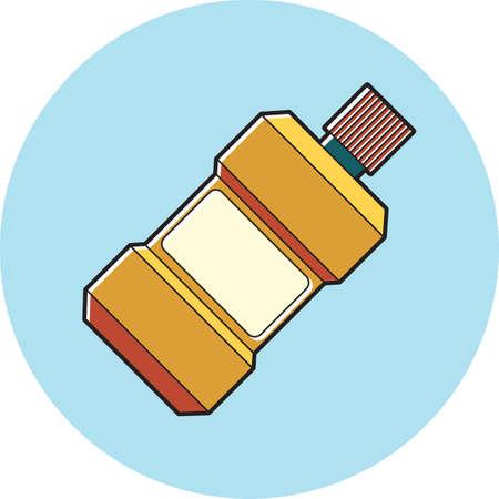 mouthwash Illustration