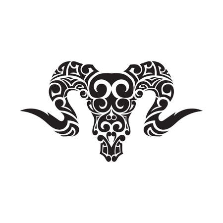 tattoo design: ram tattoo design