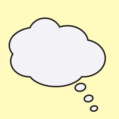 in thought: thought bubble