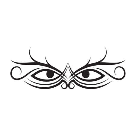 brows: tattoo design