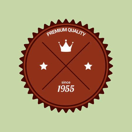 premium: premium quality label