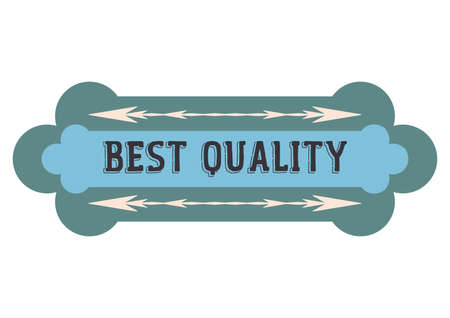 the best: best quality label