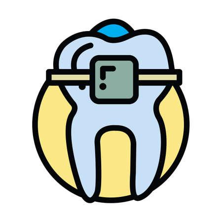 tand met beugel