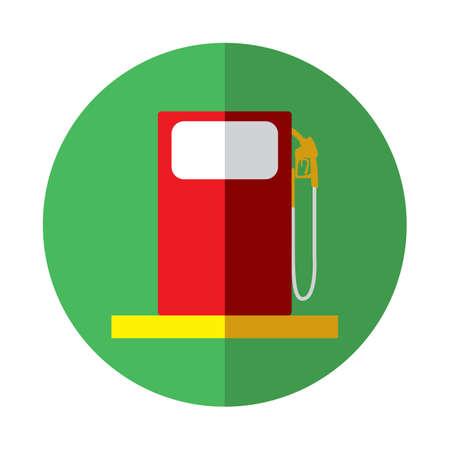 pump: petrol pump Illustration