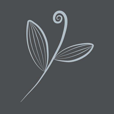 stem: leaves on stem