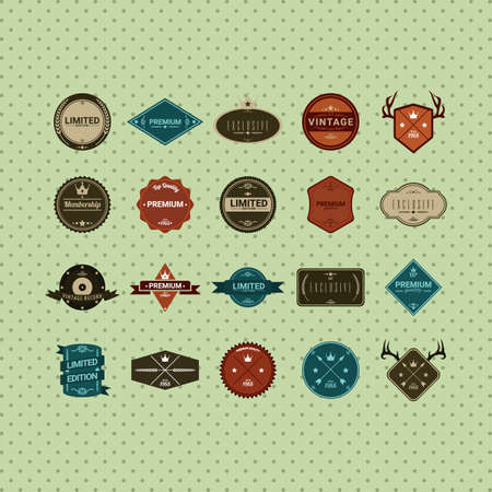exclusive collection: collection of labels