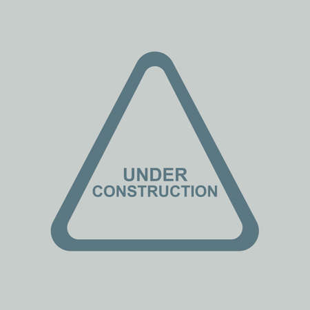 construction: under construction signboard