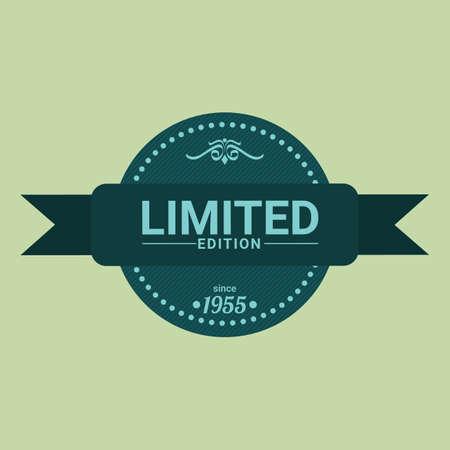 edition: limited edition label Illustration