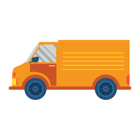 delivery truck: delivery truck Illustration