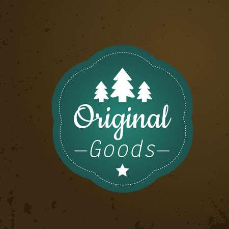 genuine good: original goods label